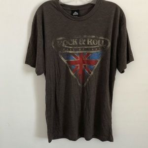 Other - NWT Rock and Roll Hall of Fame gray T Shirt  large